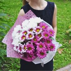 Авторский букет  «Цветущая радуга» Фото 1