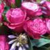 Авторский букет  «Рубиновый закат» Фото 4