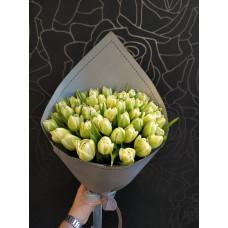 Тюльпаны белые пионовидные 25 шт.