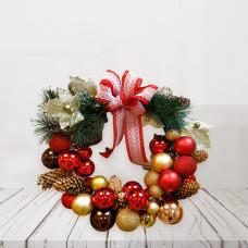Рождественский венок  Фото 1