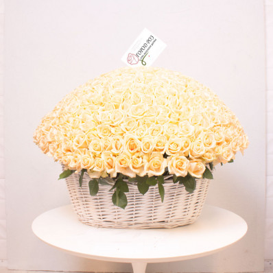 Изысканная корзина «Роза Tiffany» Фото 1
