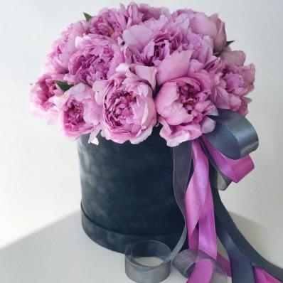 Авторская шляпная коробка «Розовые мечты» Фото 1