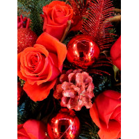 Новогодняя композиция «Рождественская история»