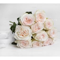Пионовидная роза White Ohara 70 см. Фото 2